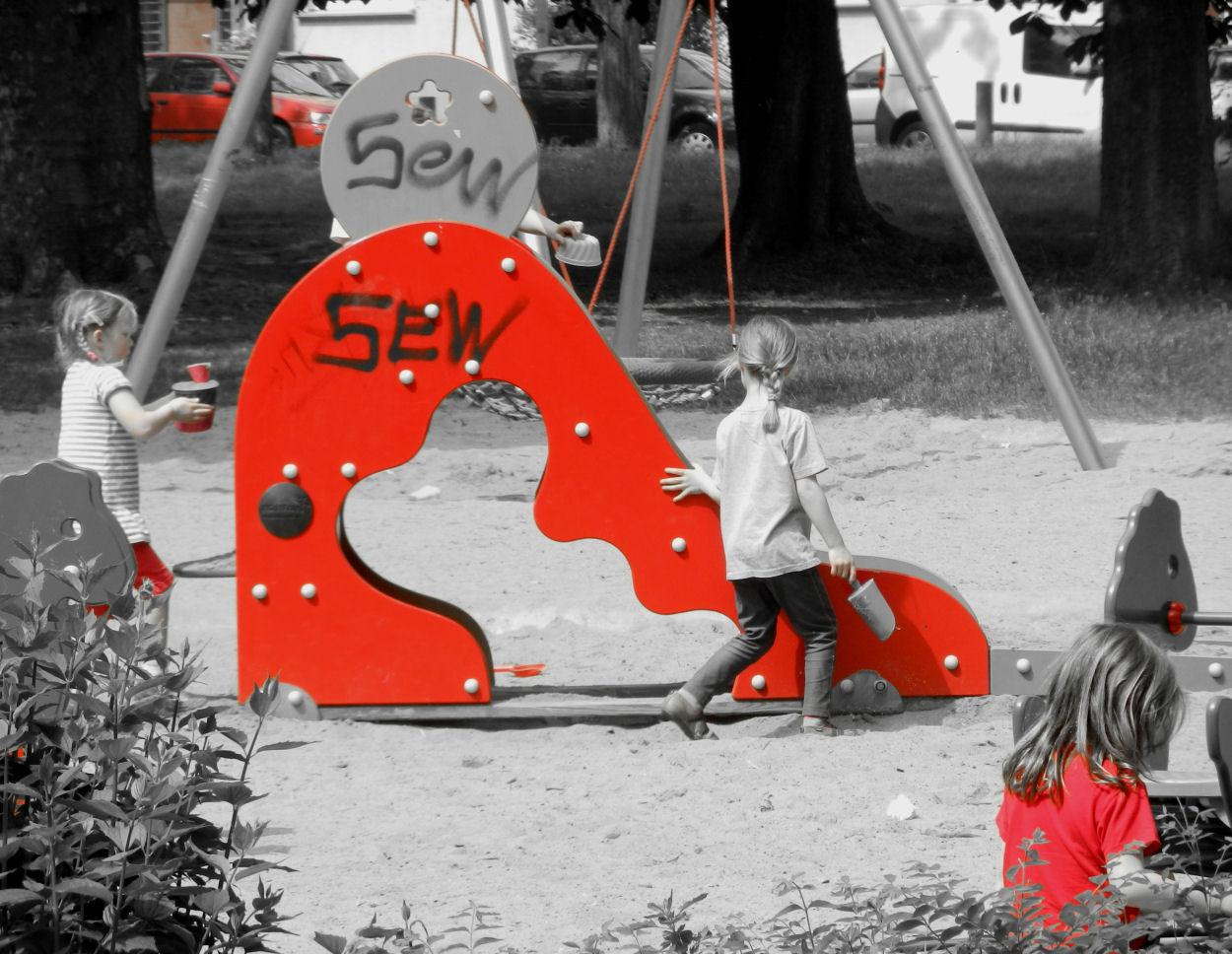 Colorkey Kinderspielplatz