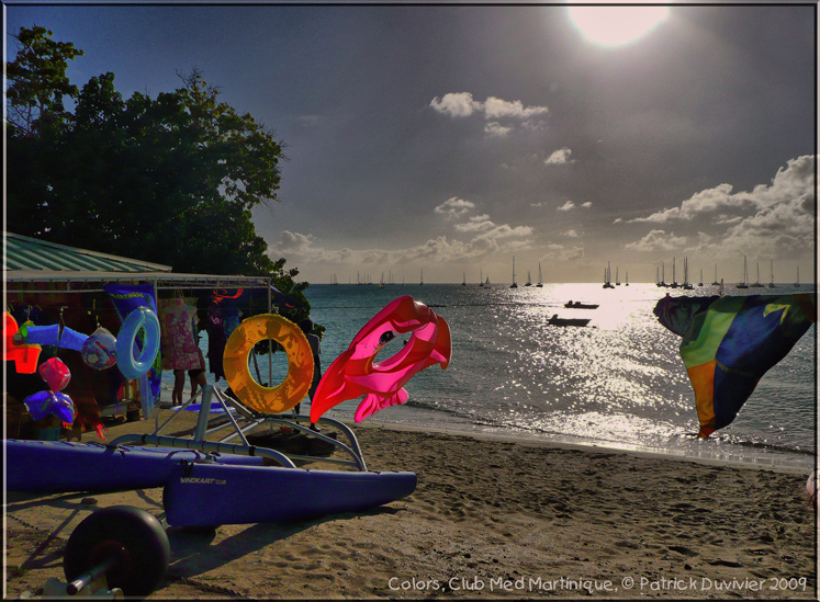 Colors club med Martinique