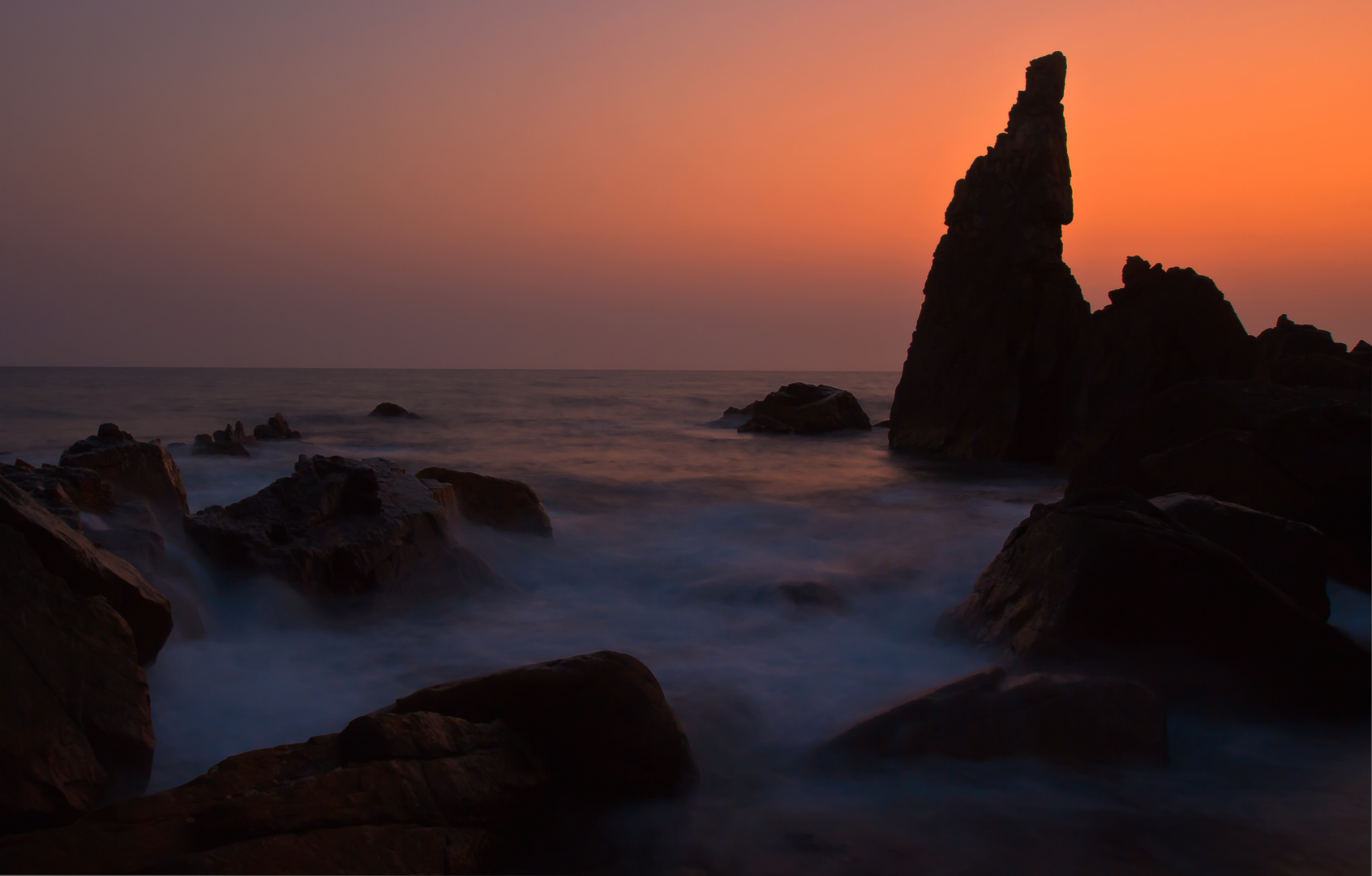 Colors of India - Sunset Arambol