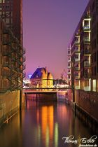 Colors of the Speicherstadt