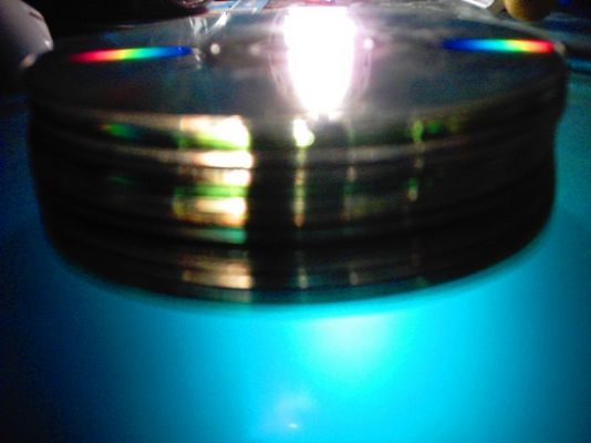 colors on a CD