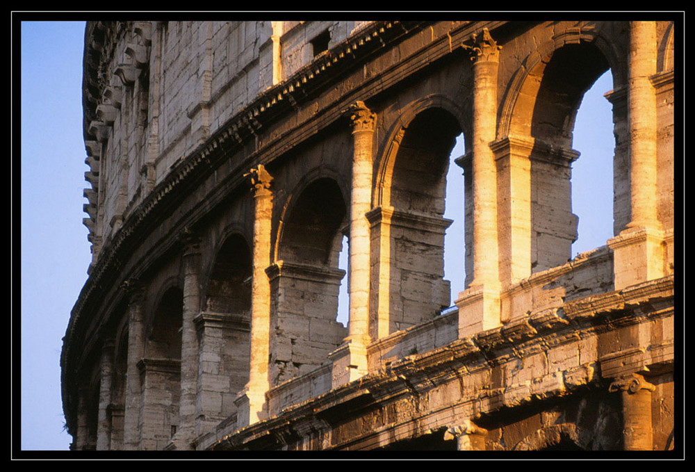 Colosseo - Detail