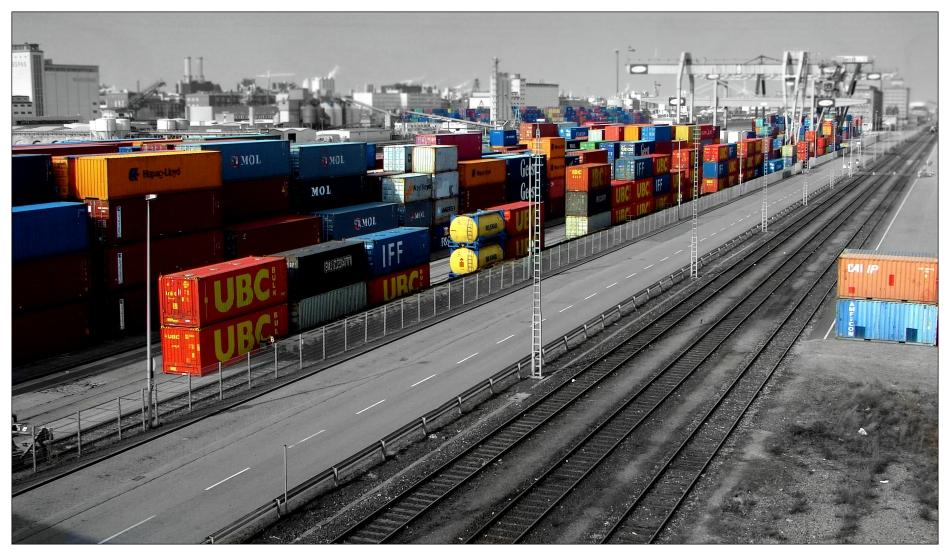 -coloured logistics-