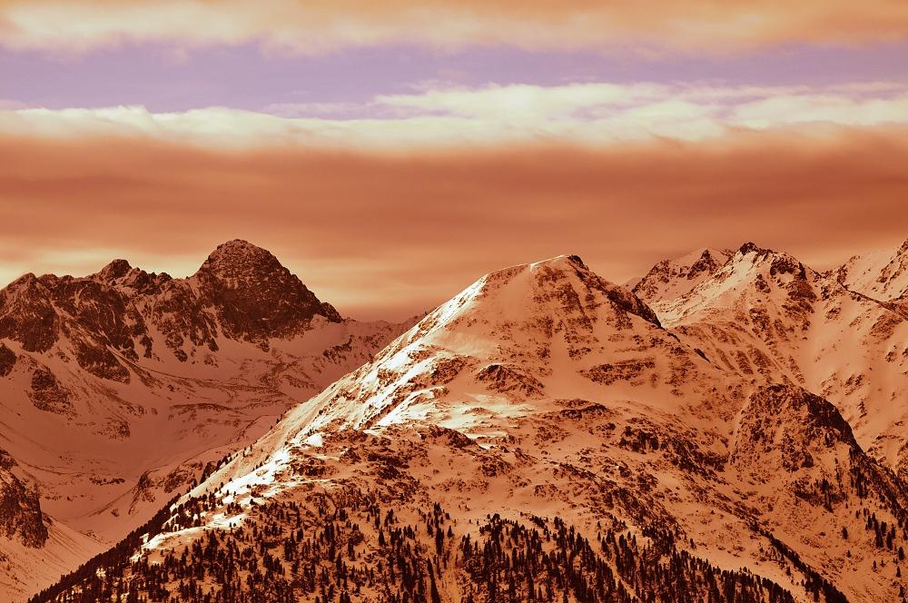Coloured Mountains