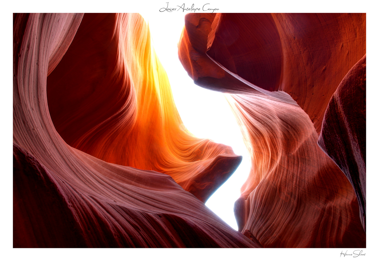 Colourful Antelope Canyon