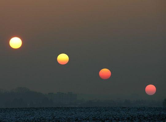 Colours of Dawn II