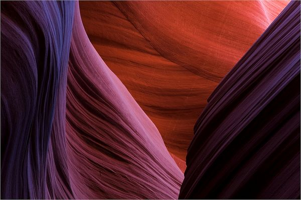 Colours of Lower Antelope