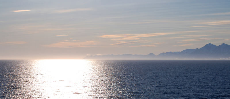 Colpo di luce sul Mare del Nord