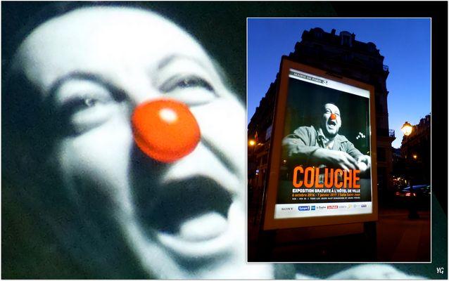 Coluche, l'humoriste au grand coeur...
