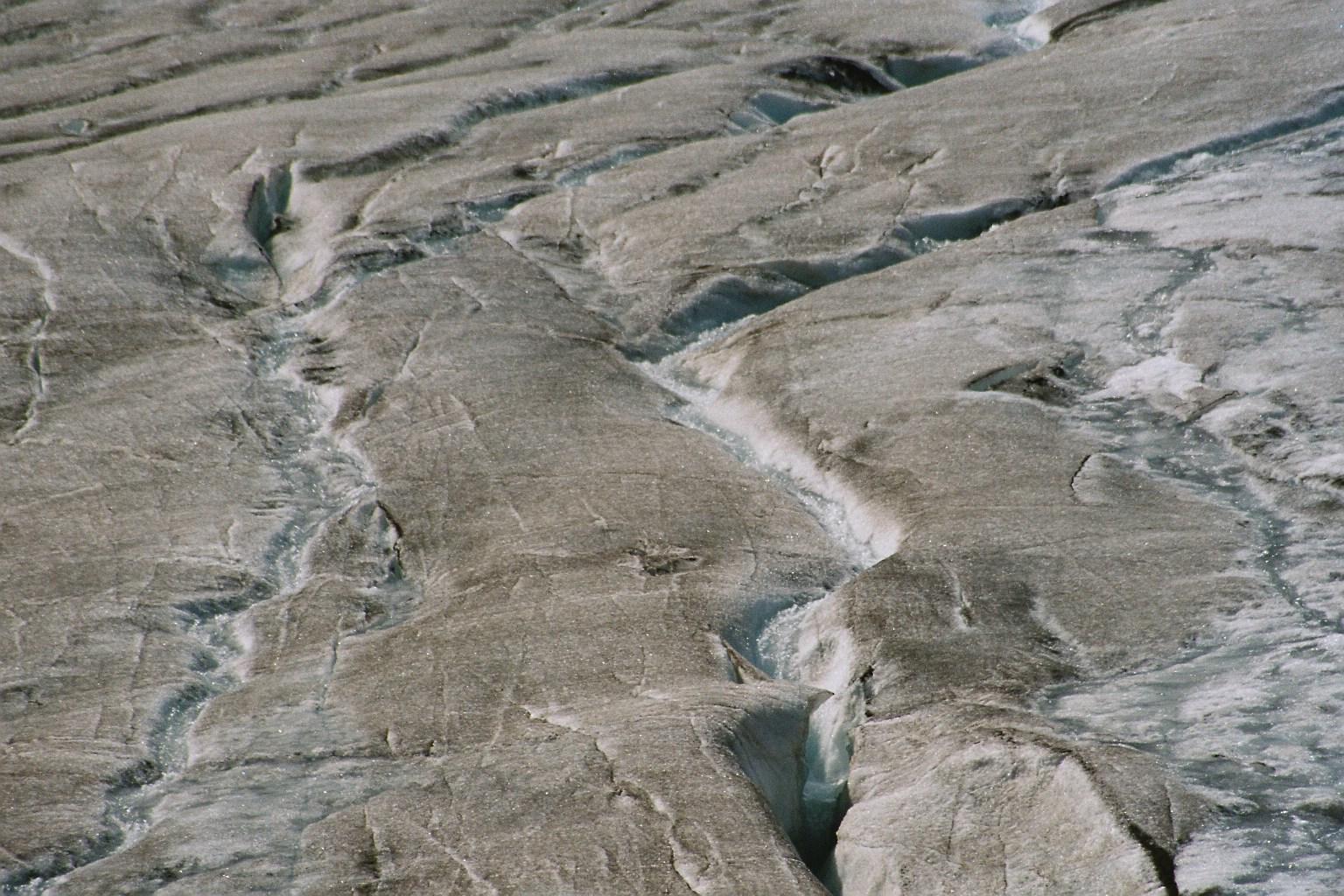 Columbia-Icefield Canada aus der Nähe