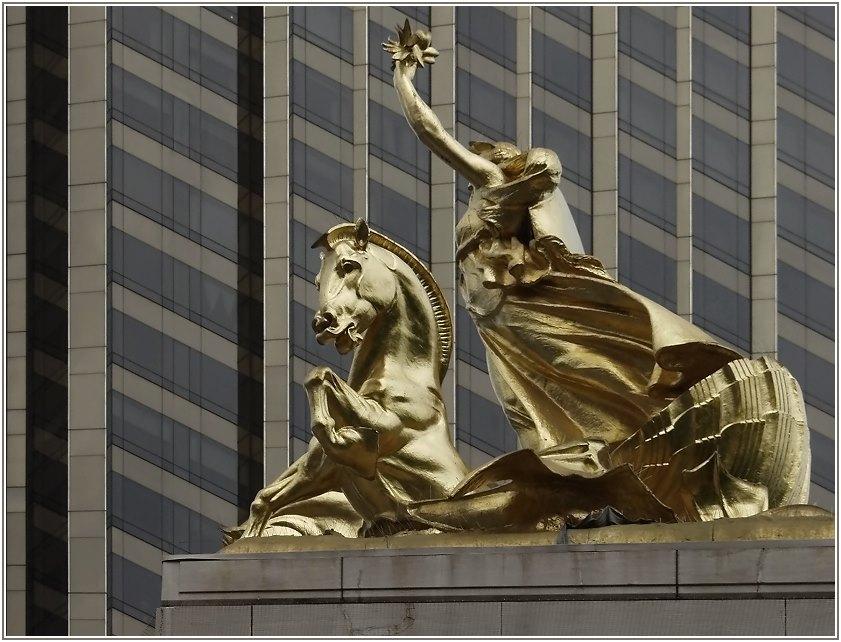 Columbus Circle NY - 2.Tag 2.00 pm