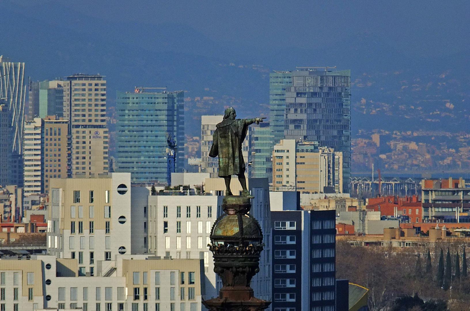 Columbus in Barcelona