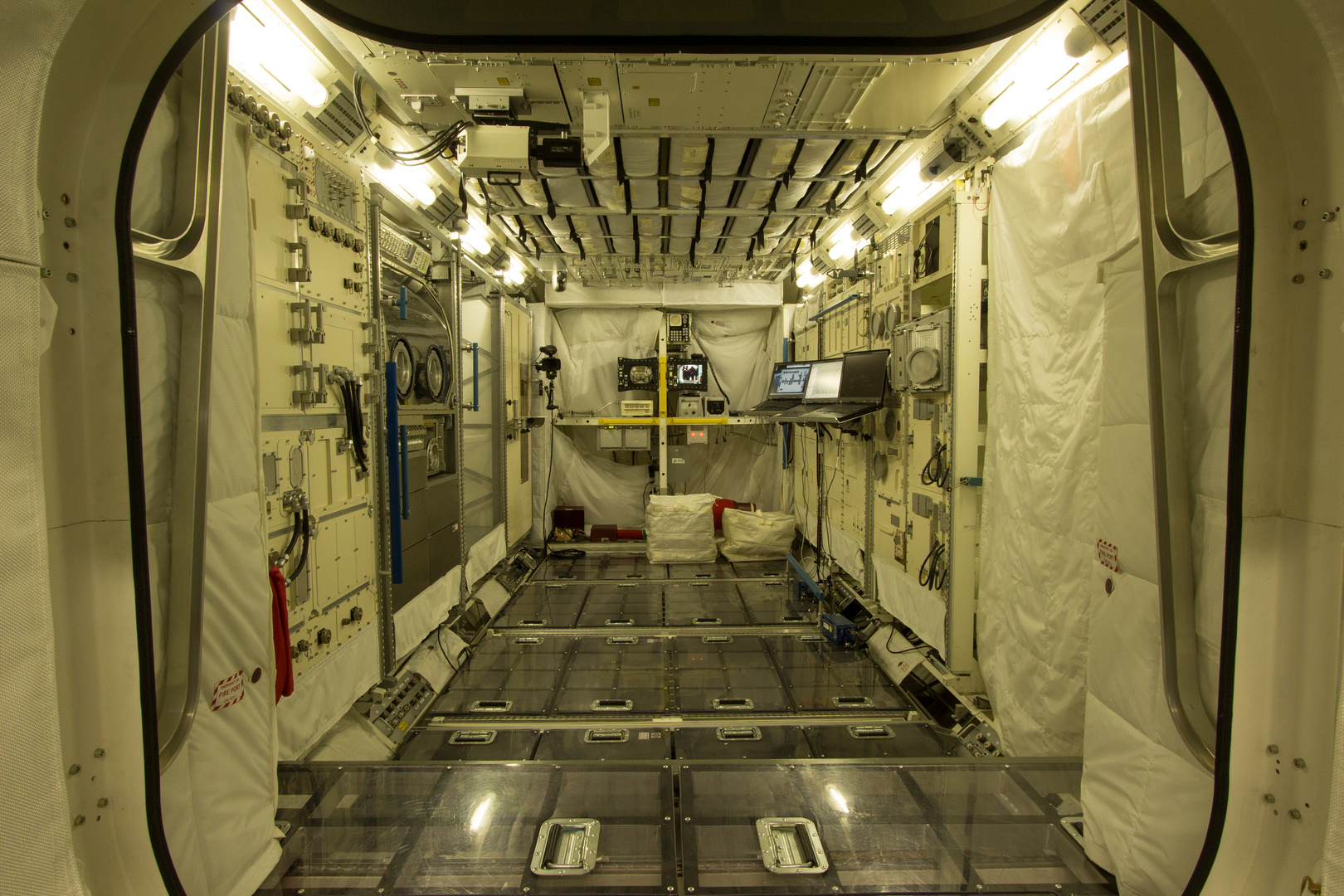 Columbus Mockup im Astronautenausbildungszentrum der ESA
