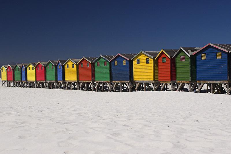 ... colurful on the Beach ...