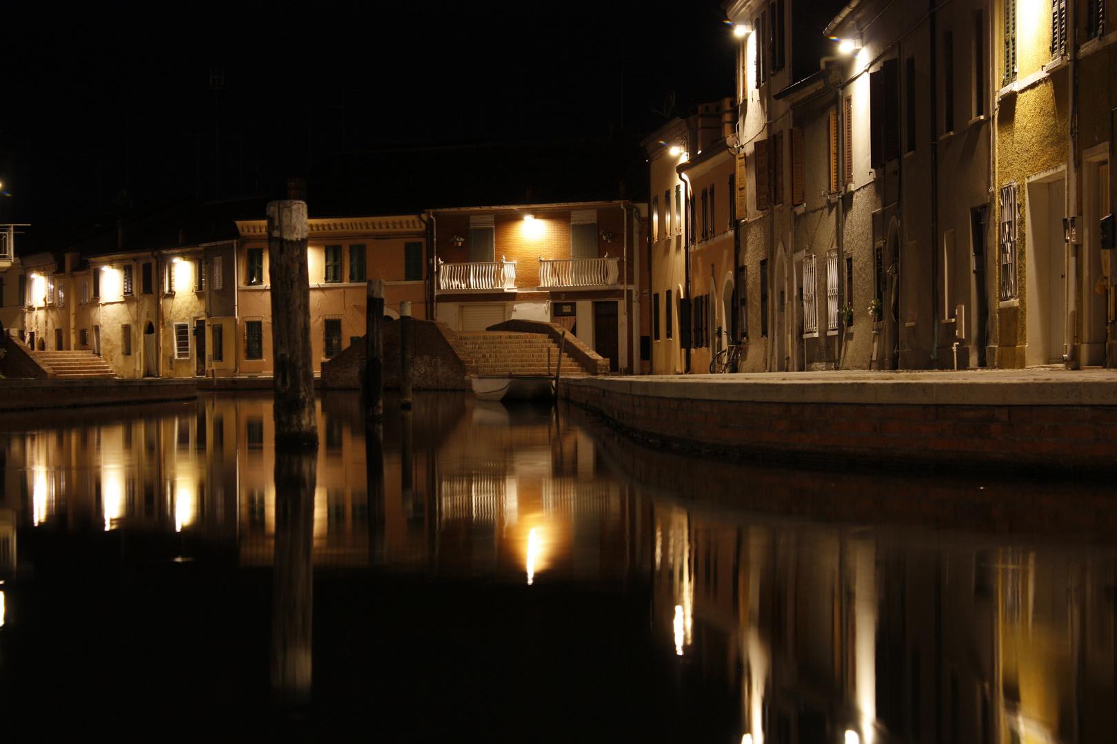 Comacchio in der Nacht (2)