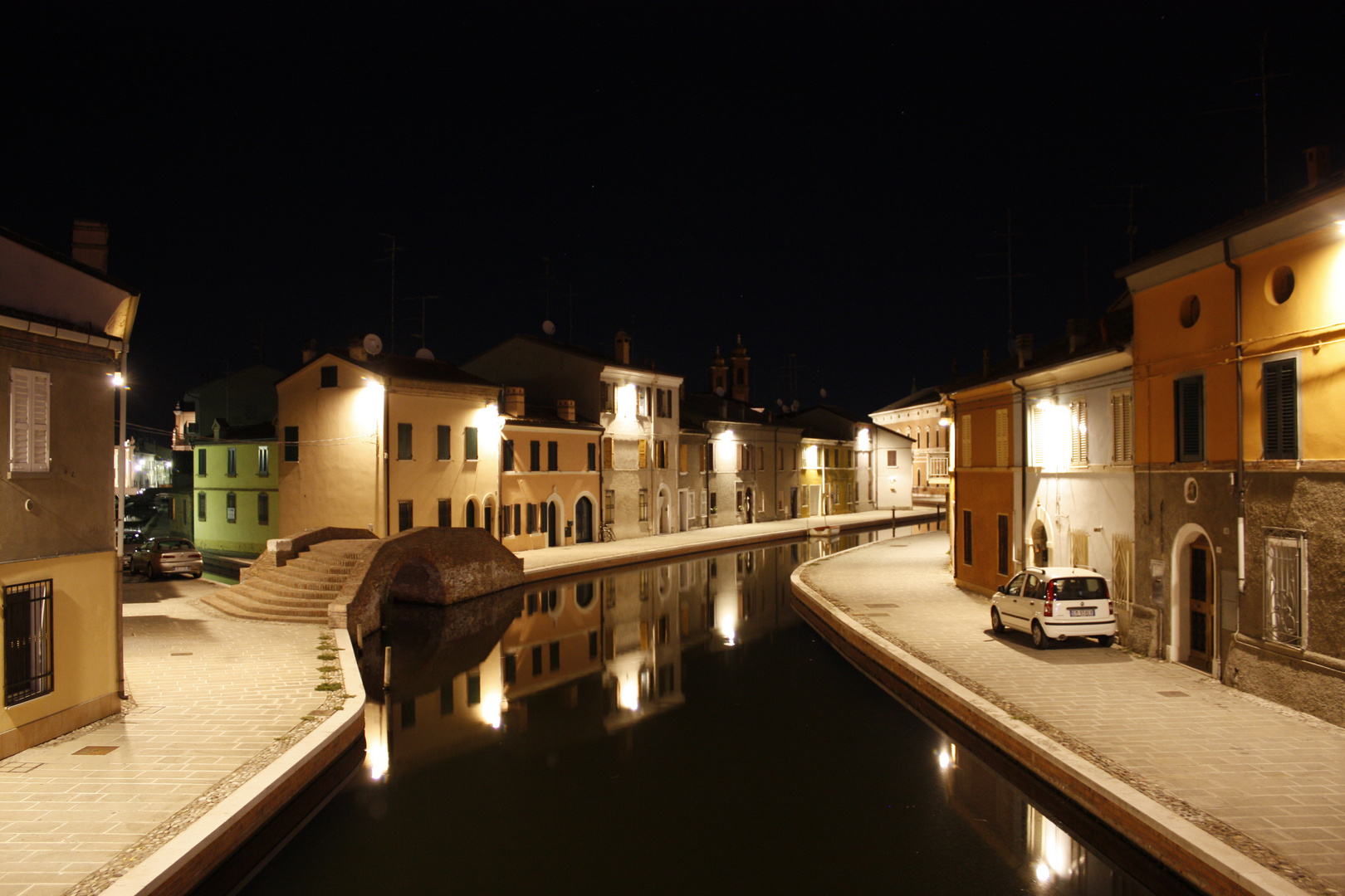 Comacchio in der Nacht (3)