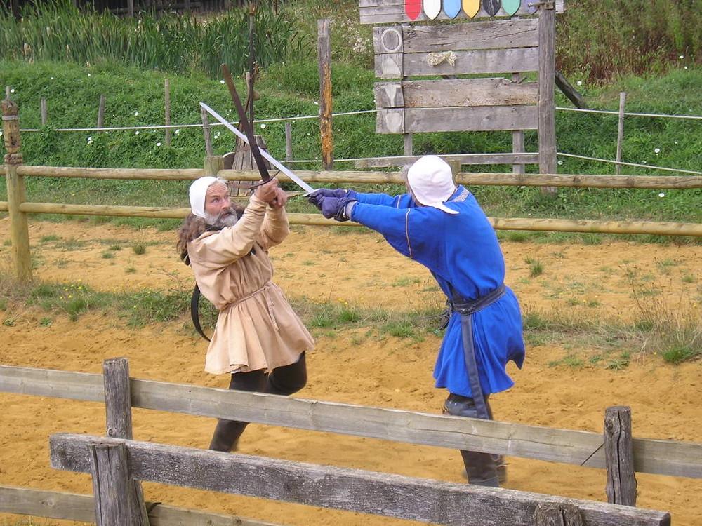 Combat d'épée, Sainte Suzanne, Mayenne