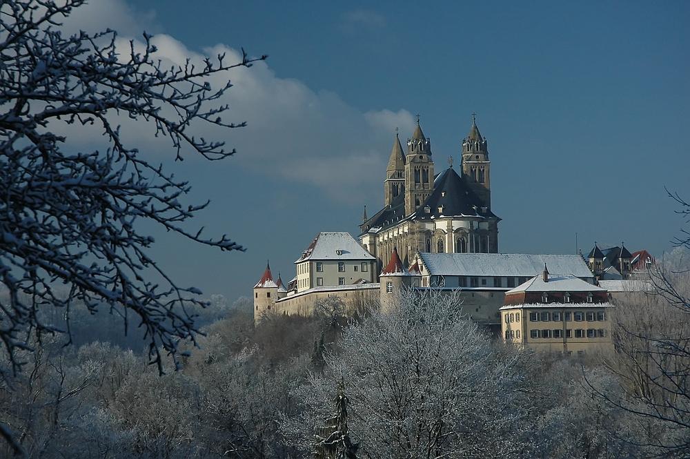 Comburg im Winterkleid