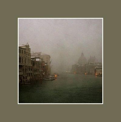 come nevicava.......a venezia