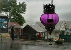 Come piove a Geiranger !!