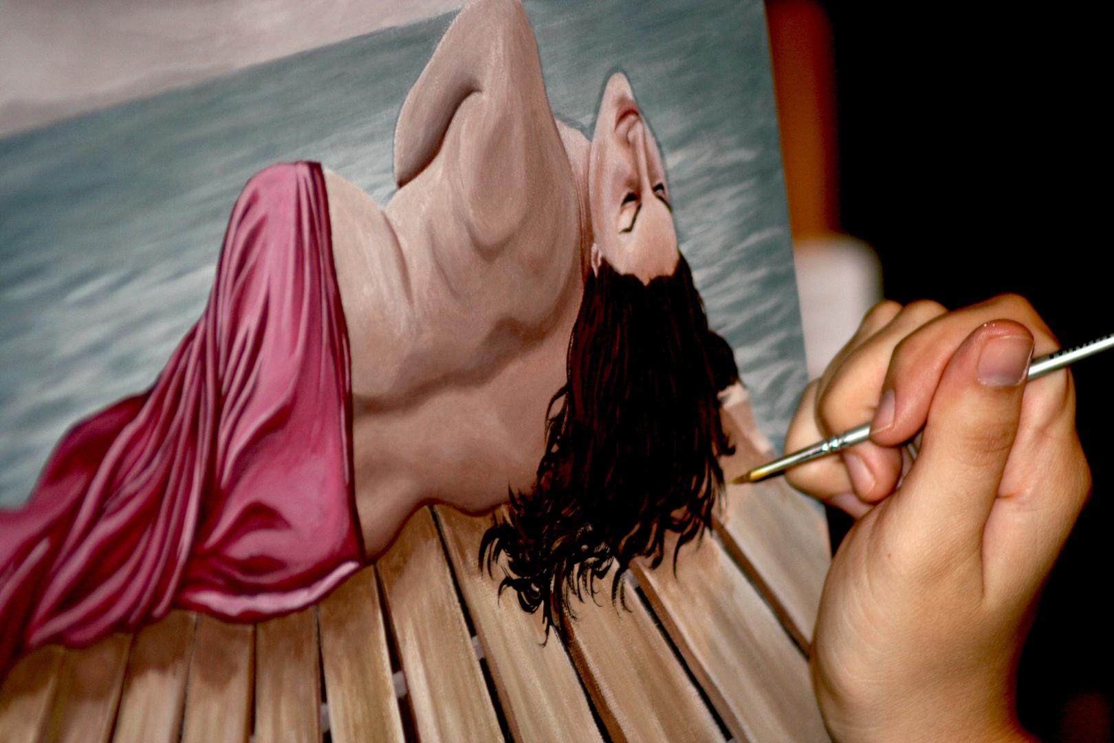Come un pittore