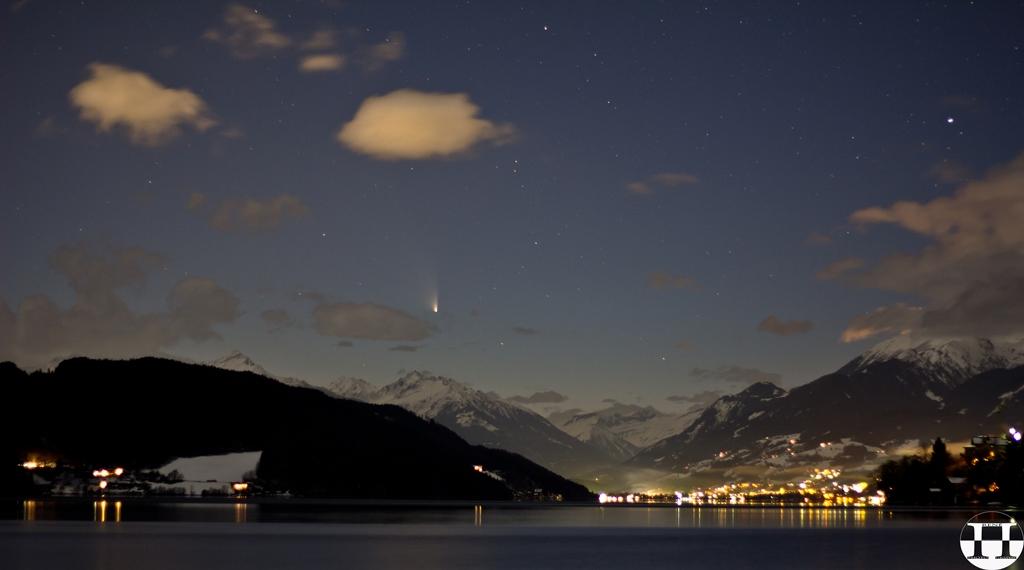 Comet PanSTARRS C/2011 L4 Above Lake Millstatt III