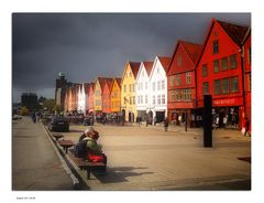 coming storm on Bryggen
