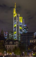 Commerzbank - Frankfurt am Main @ Night