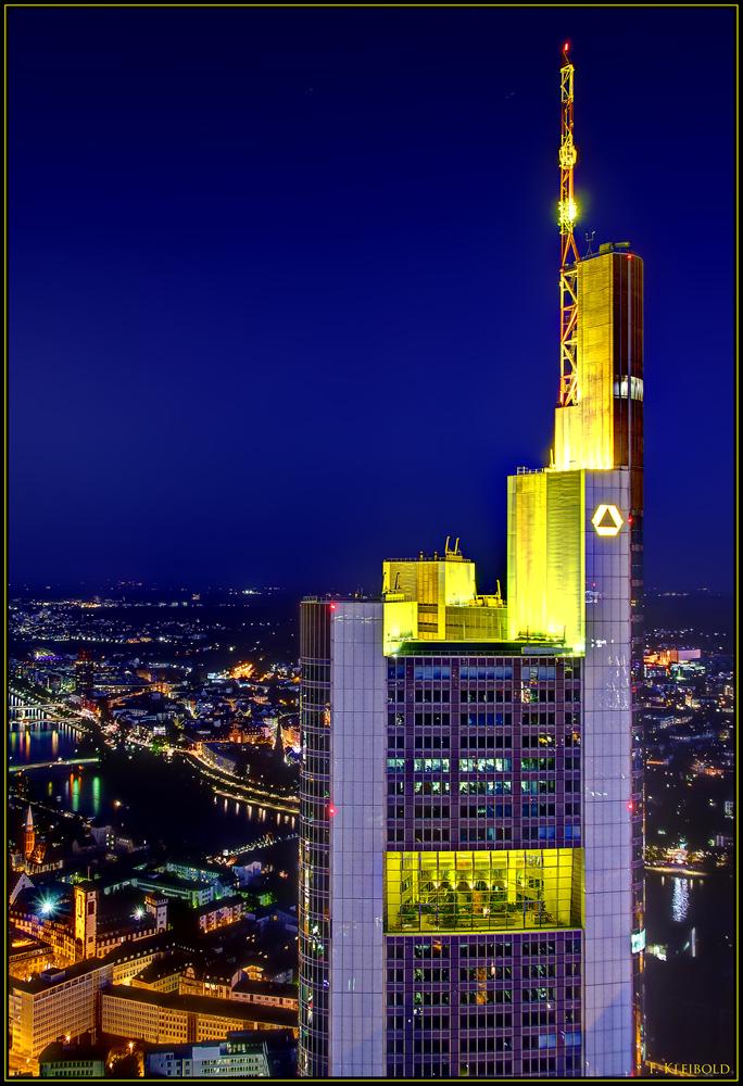 Commerzbank Tower Foto & Bild   deutschland, europe ...