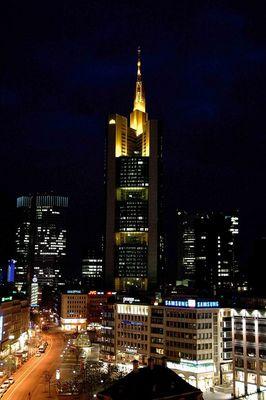 Commerzbanktower@Night