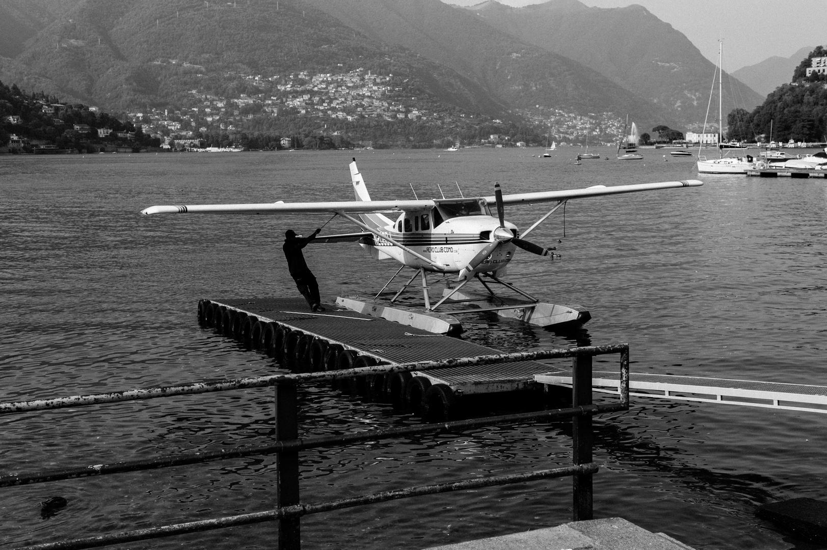 Como - Wasserflugzeug