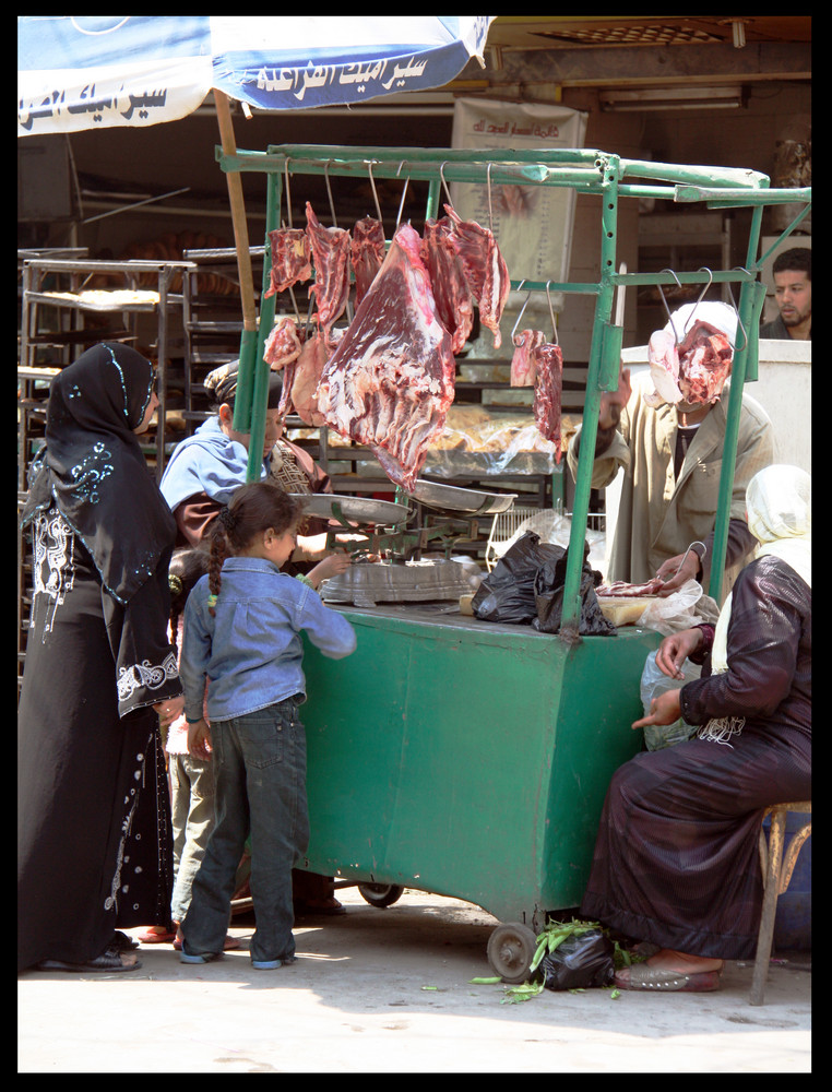 Comprando carne....ufff...