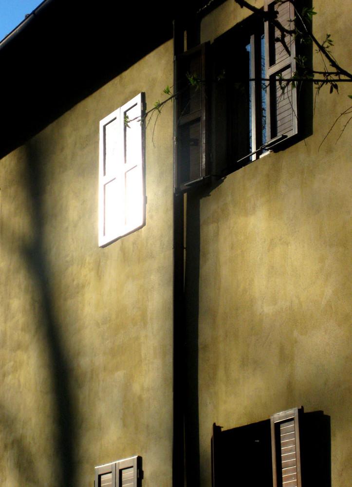 Con el sol en la ventana