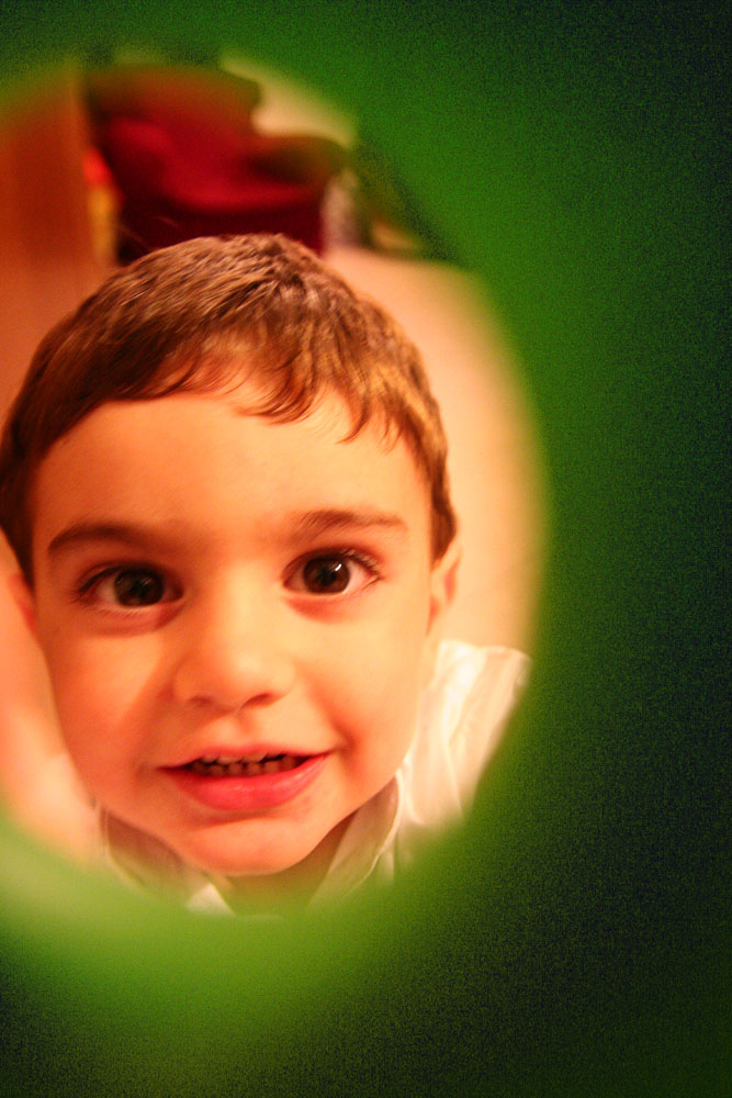 Con gli occhi di un bambino .......