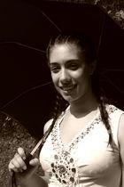 ...con ombrello...