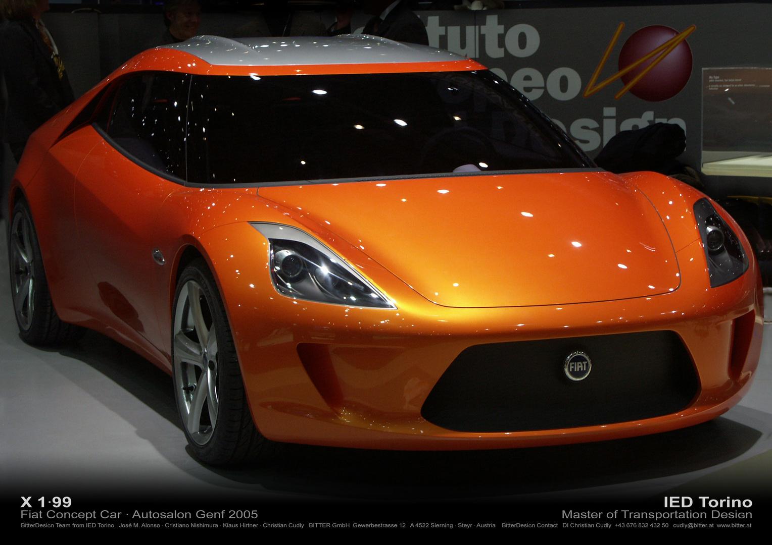 Concept Car Fiat X1/99