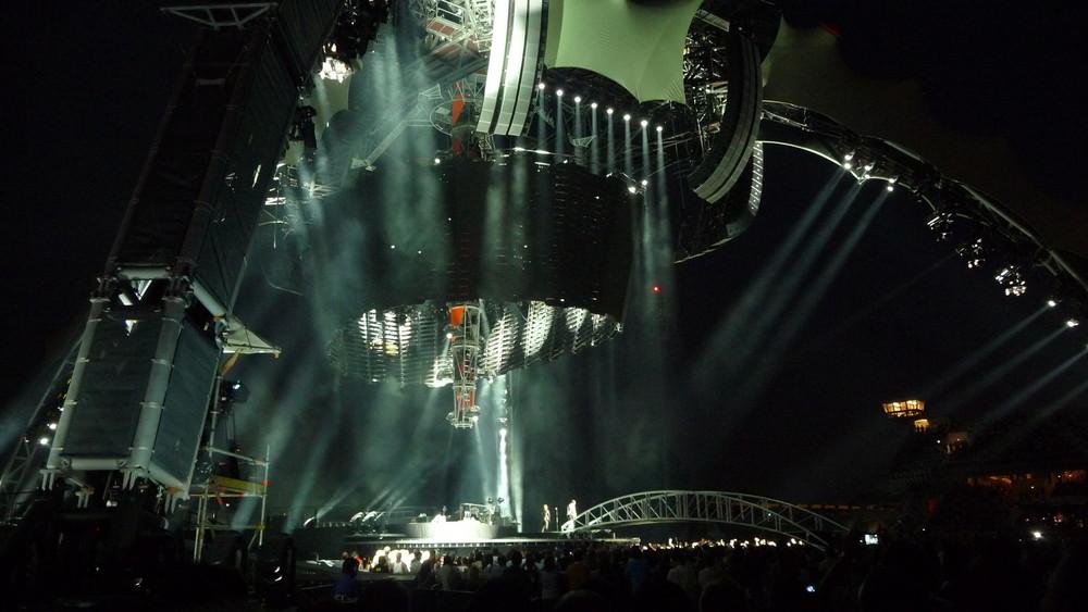 concert U2 nice 2009