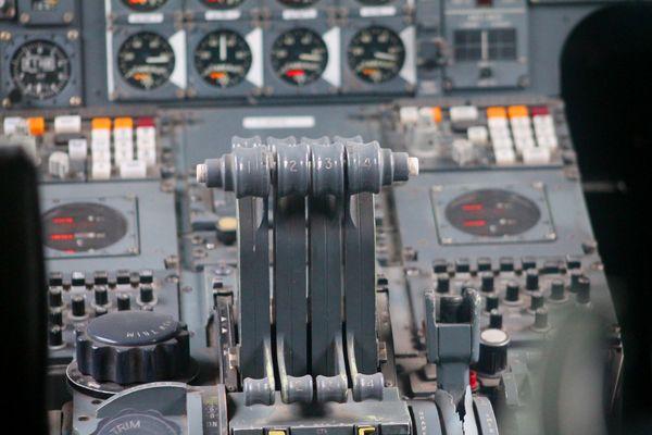 Concorde - Schubhebel