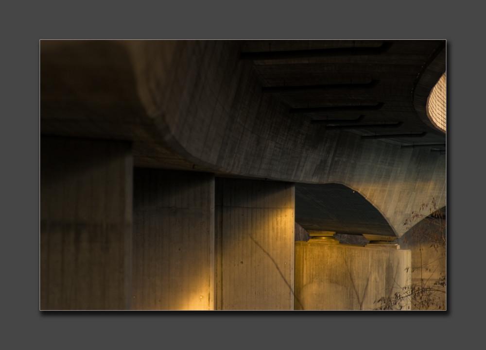 Concrete meets light