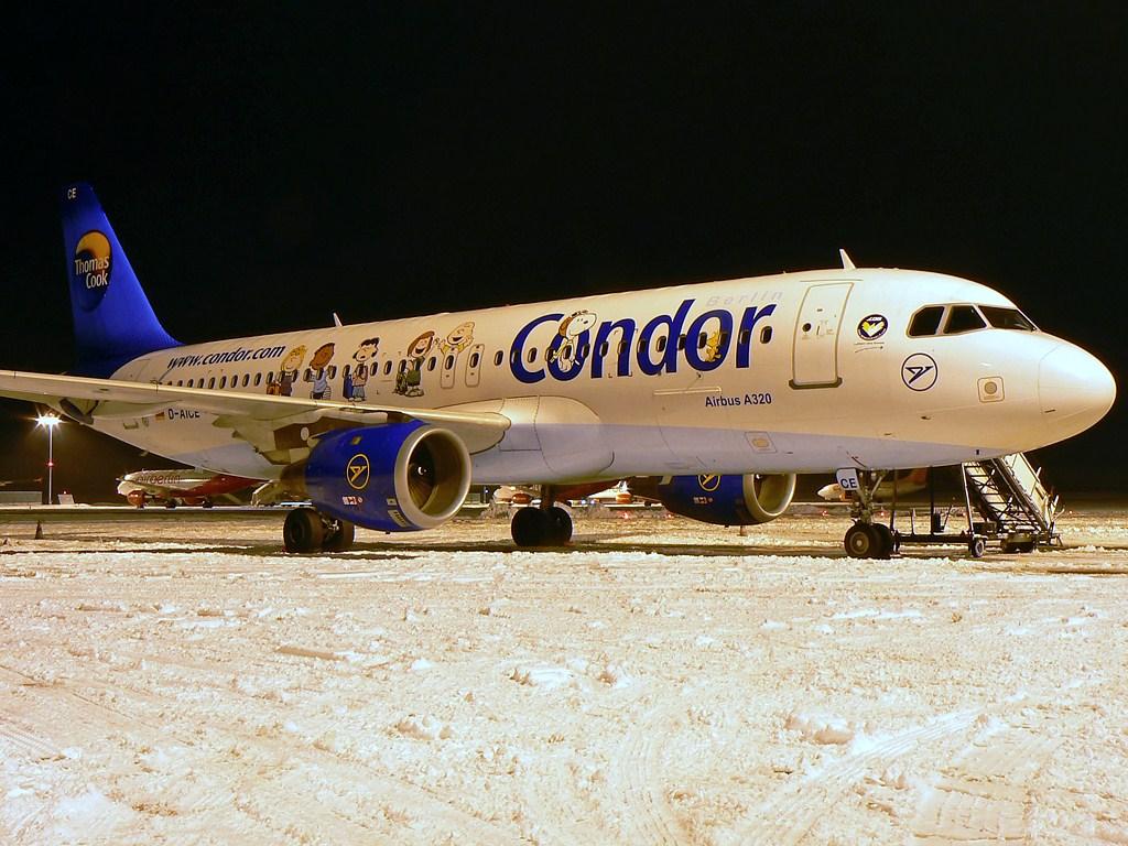 Condor Airbus A320-212 D-AICE