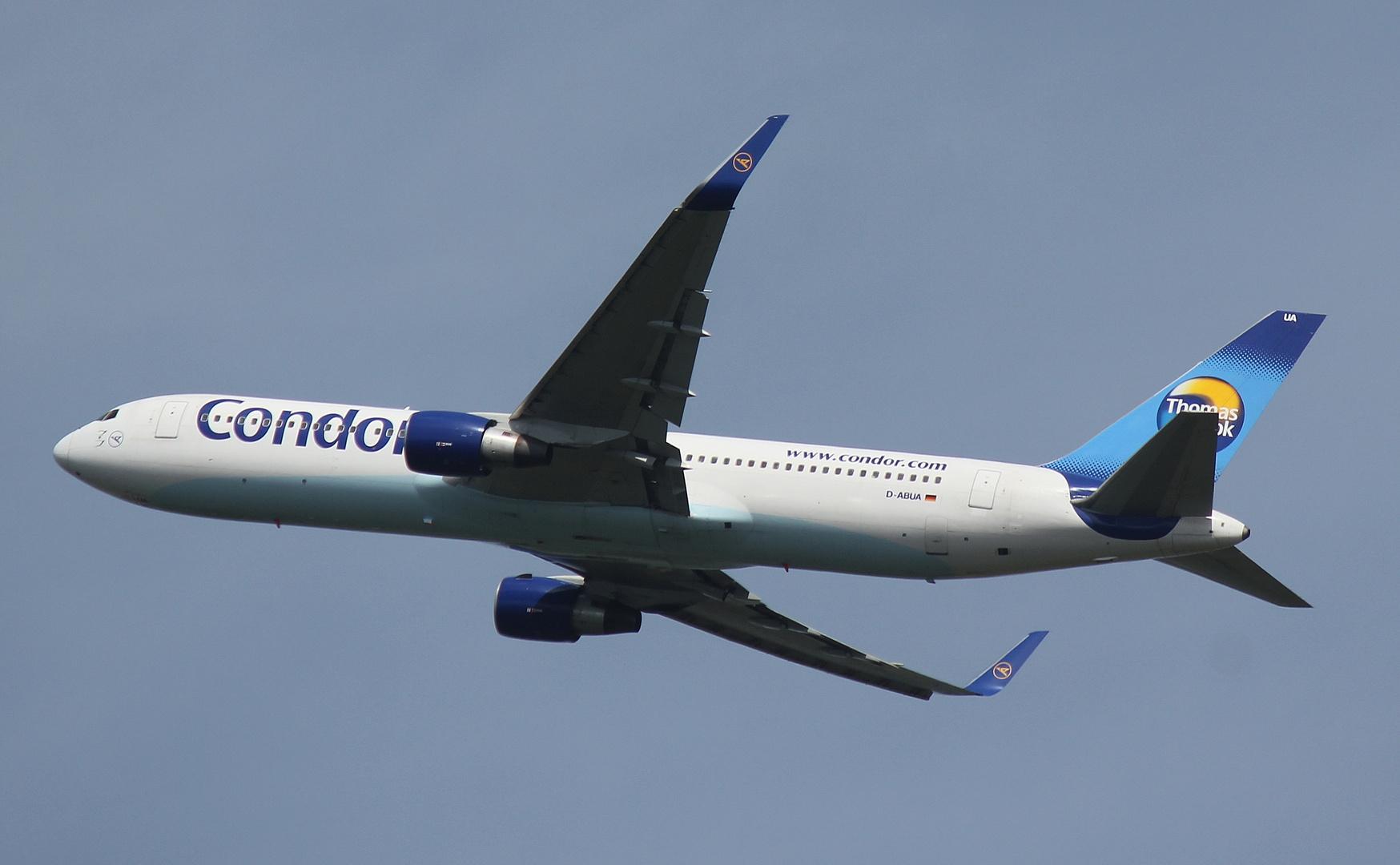 Condor Boeing 767-330ER D-ABUA