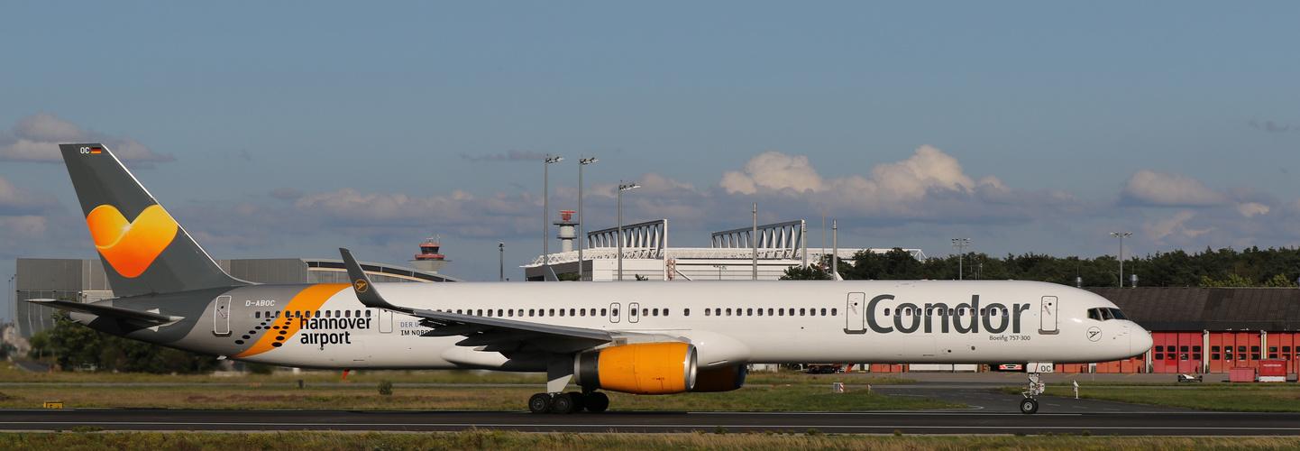 Condor - hannover airport