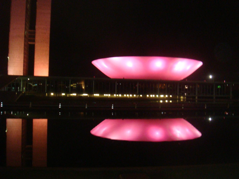 Congresso Nacional de Brasília-22.10.2012-OUTUBRO ROSA III-OUTUBRO ROSA