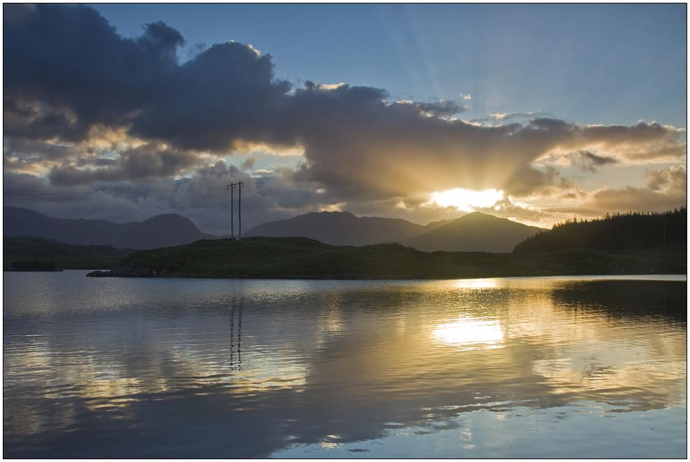 Connemara Sunrise