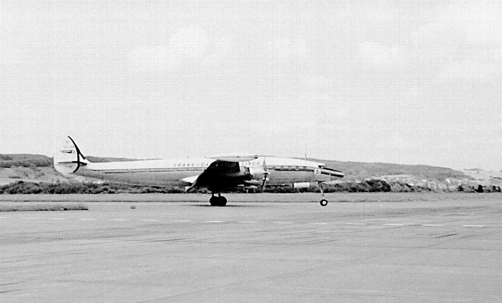 """""""Conny"""", L-1049 Super Constellation, die Schönheitskönigin aller Flugzeuge"""