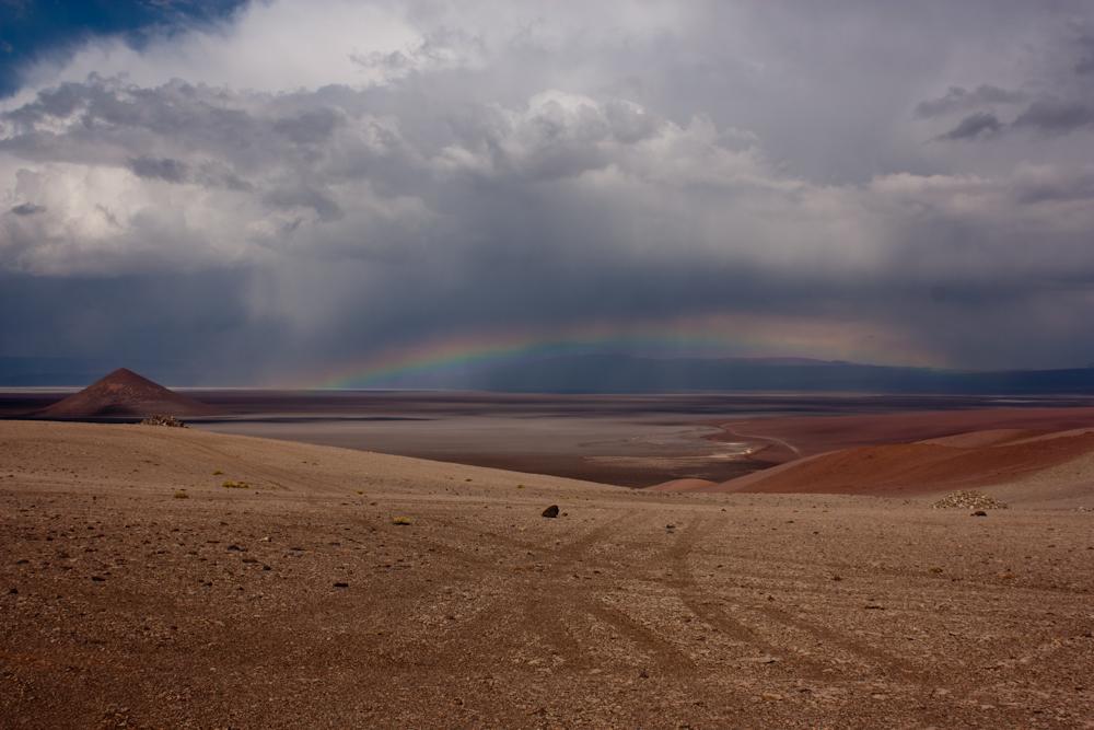Cono de arita, Tolar grande, Salta, Argentina