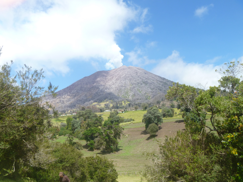 cono volcanico