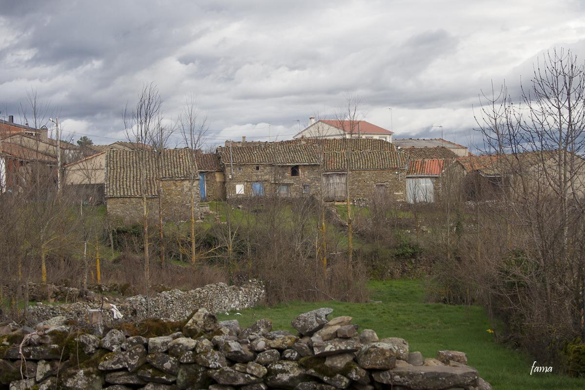 Construcciones típicas de Aliste