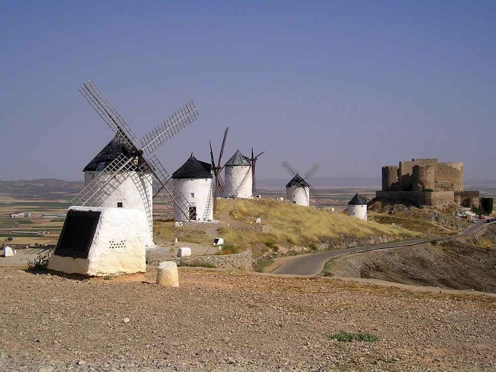 Consuegra Spagna - I mulini a vento