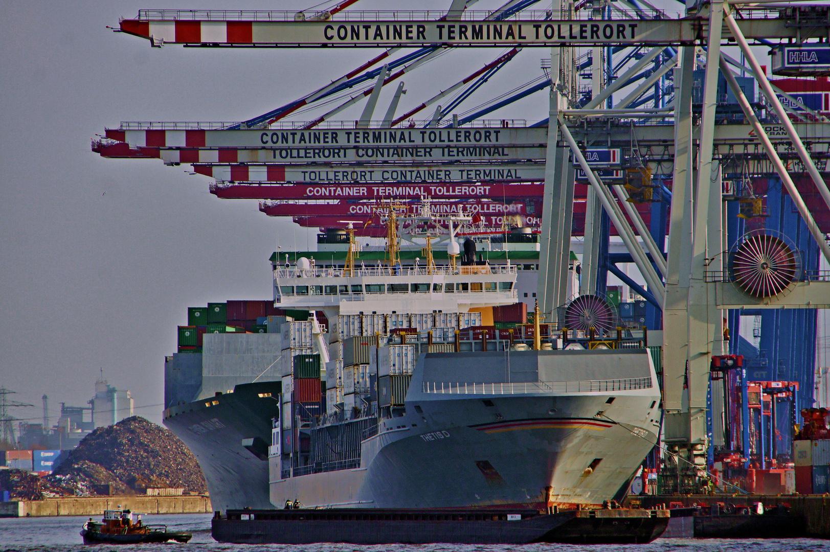 ,, Container Terminal Tollerort '' - Bild (2)